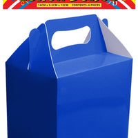 Party Time Lunch Box - Blue 6PK