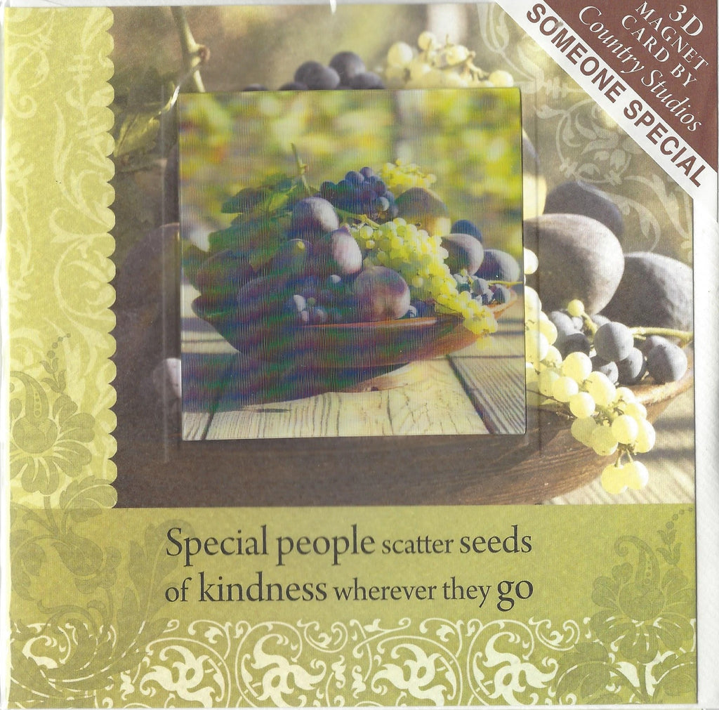 Special people scatter seeds