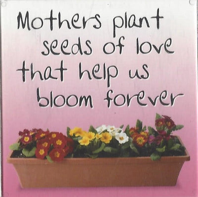 Mothers plant seeds of love