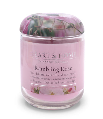 Rambling Rose - Large Candle - From Heart and Home