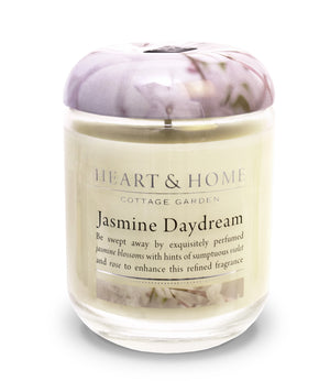 Jasmine Daydream - Large Candle - From Heart and Home