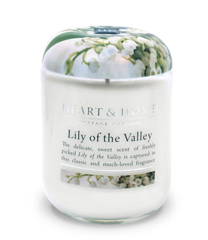 Lily of the Valley - Large Candle - From Heart and Home
