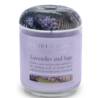 Lavender Sage - Large Candle - From Heart and Home