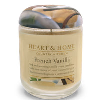 French Vanilla - Large Candle - From Heart and Home