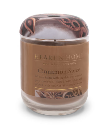 Cinnamon Spice - Large Candle - From Heart and Home