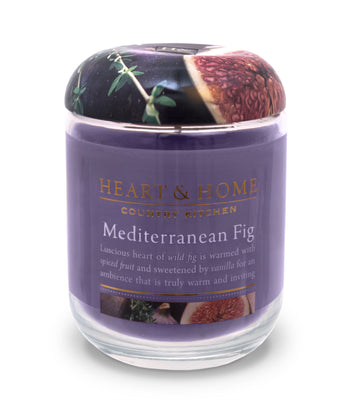 Mediterranean Fig - Large Candle - From Heart and Home