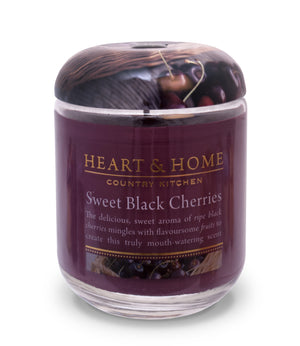 Sweet Cherries - Large Candle - From Heart and Home