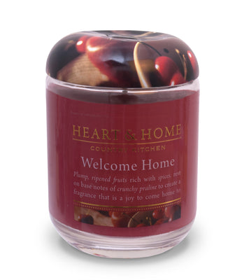 Welcome Home - Large Candle - From Heart and Home