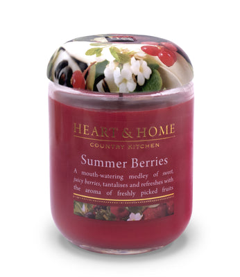 Summer Berries - Large Candle - From Heart and Home