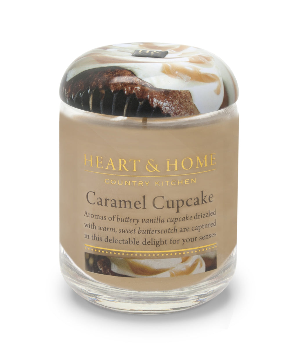 Caramel Cupcake - Large Candle - From Heart and Home