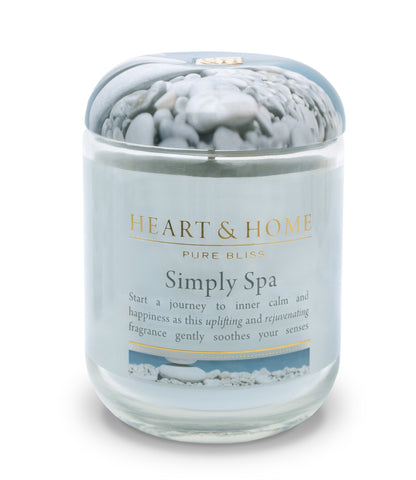 Simply Spa - Large Candle - From Heart and Home