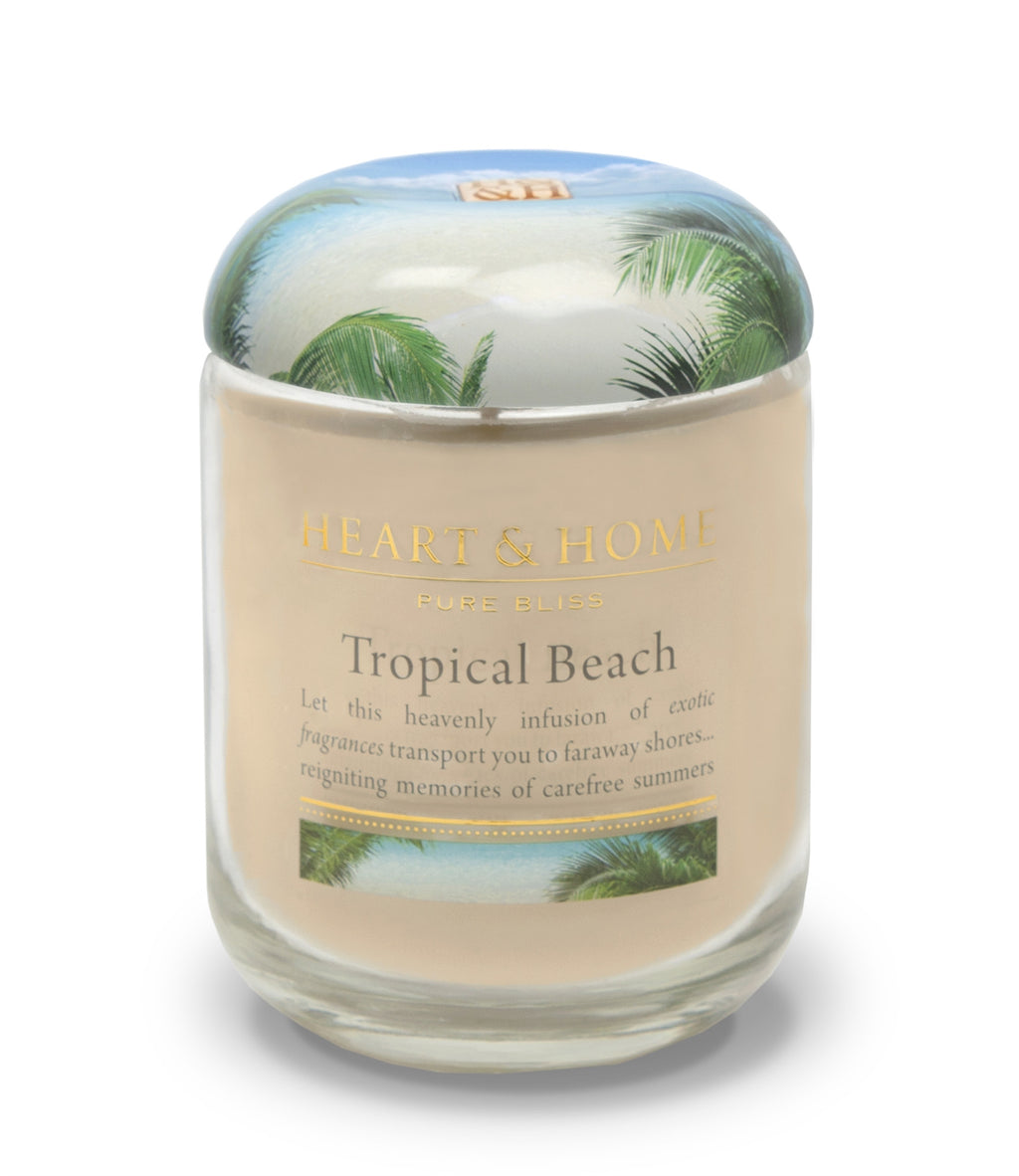 Tropical Beach - Large Candle - From Heart and Home