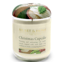 Christmas Cupcake - Large Candle - From Heart and Home