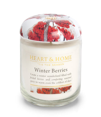 Winter Berries - Large Candle - From Heart and Home