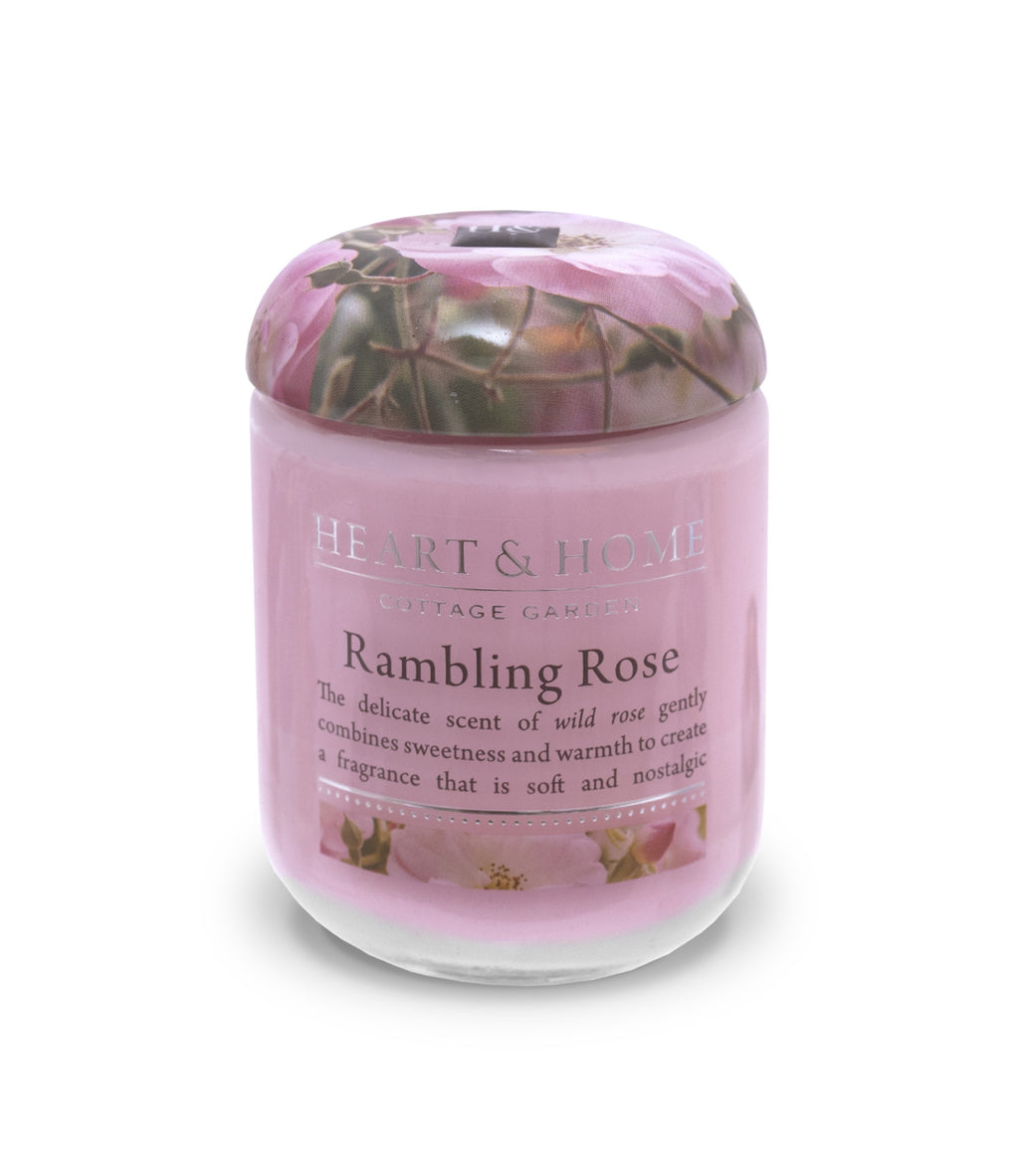 Rambling Rose - Small Candle - From Heart and Home
