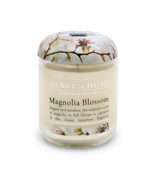 Magnolia Blossom - Small Candle - From Heart and Home