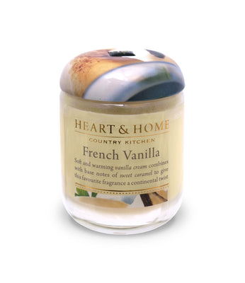 French Vanilla - Small Candle - From Heart and Home