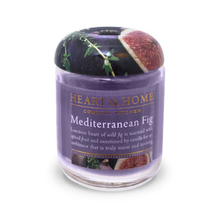 Mediterranean Fig - Small Candle - From Heart and Home