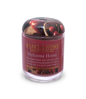 Welcome Home - Small Candle - From Heart and Home