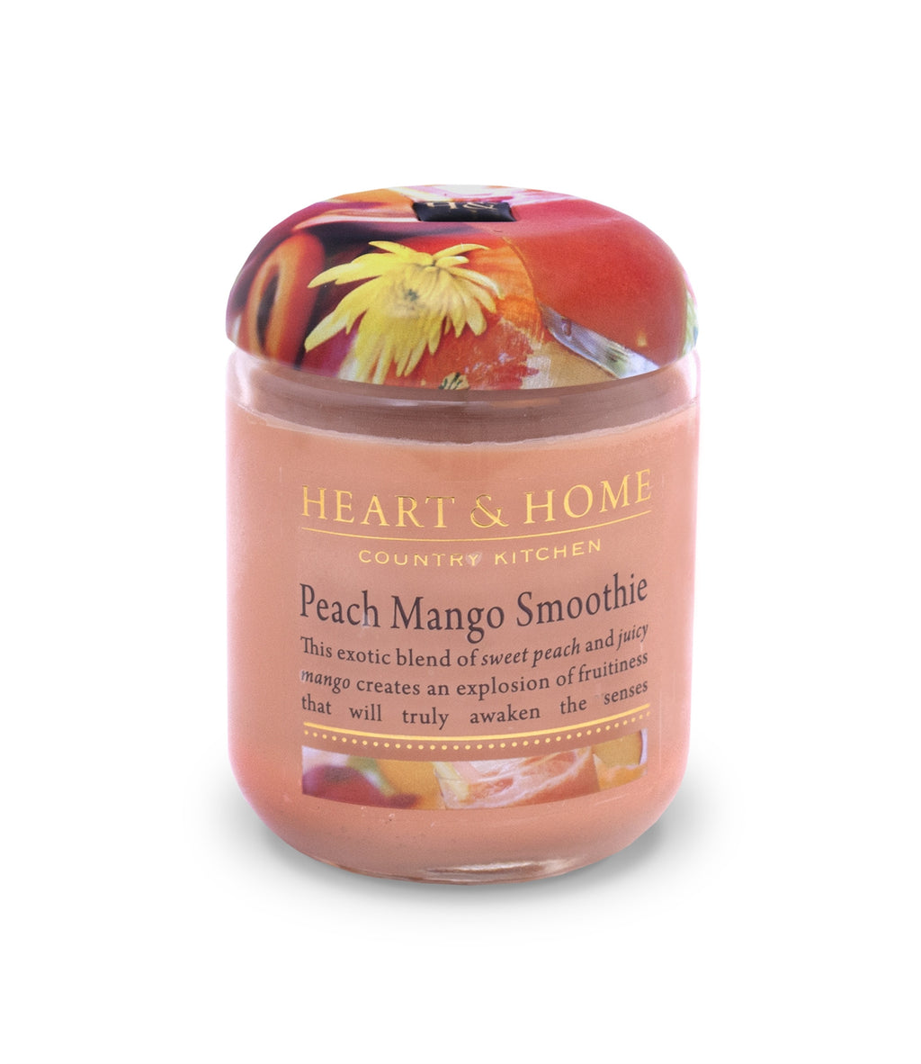 Mango Smoothie - Small Candle - From Heart and Home