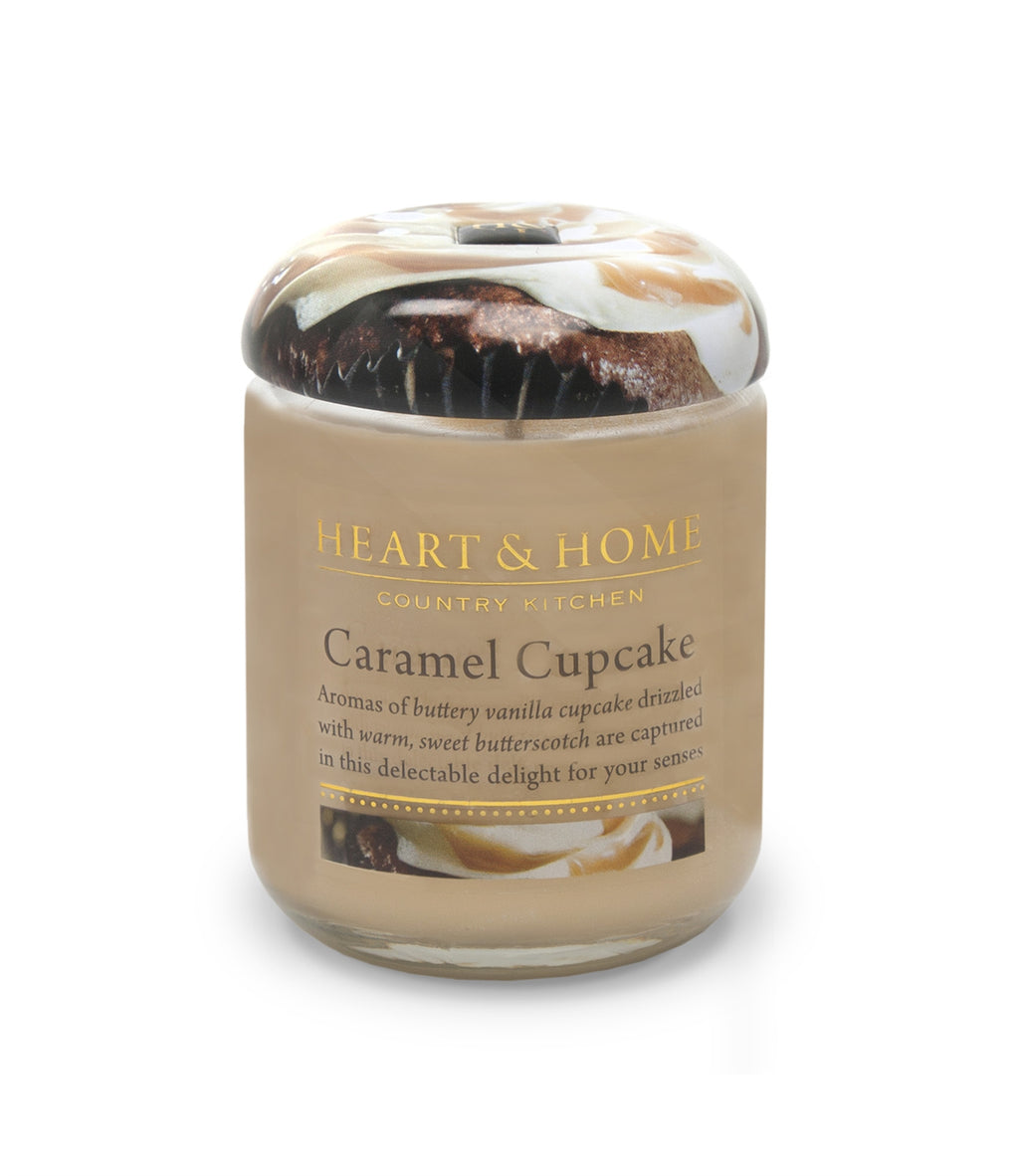 Caramel Cupcake - Small Candle - From Heart and Home