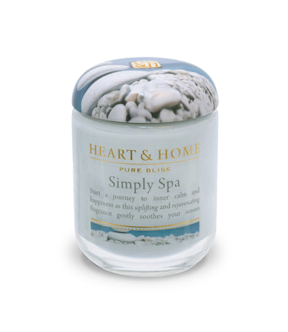 Simply Spa - Small Candle - From Heart and Home