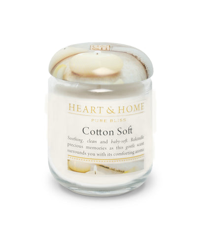 Cotton Soft - Small Candle - From Heart and Home