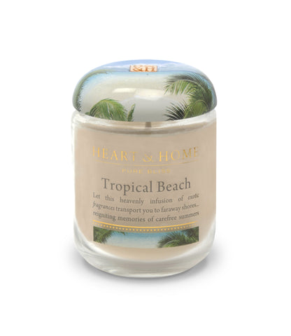 Tropical Beach - Small Candle - From Heart and Home