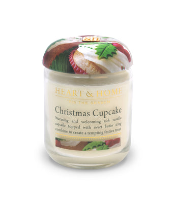 Christmas Cupcake - Small Candle - From Heart and Home