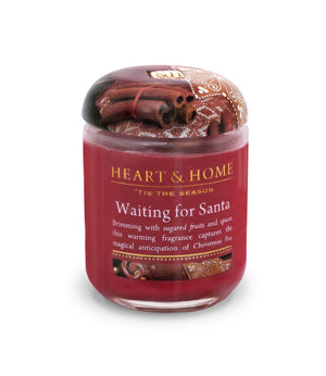 Waiting for Santa - Small Candle - From Heart and Home