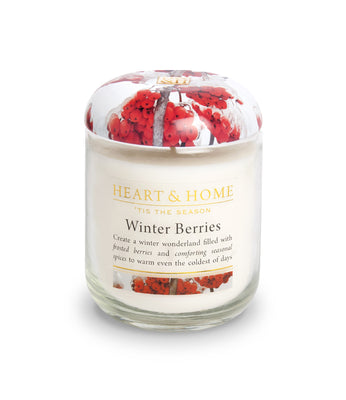 Winter Berries - Small Candle - From Heart and Home