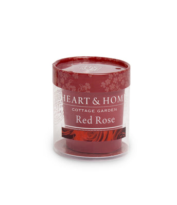 Red Rose - Votive - From Heart and Home