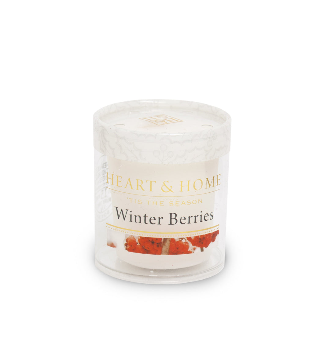 Winter Berries - Votive - From Heart and Home