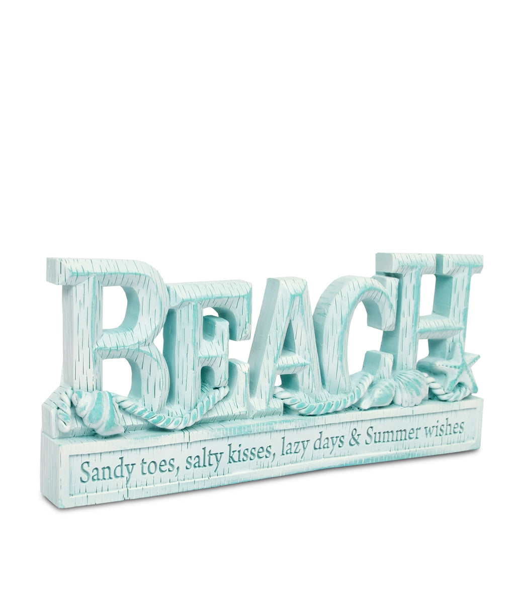 Beach Resin Words - From Heart and Home