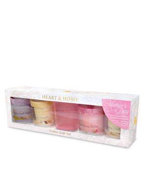 Votive Gift Pack (4 & holder) - From Heart and Home