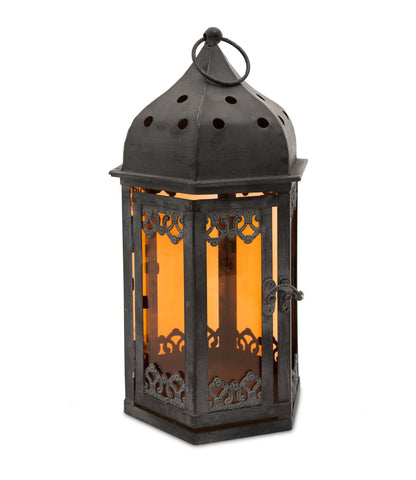 Black Arabian Style Lantern - From Heart and Home