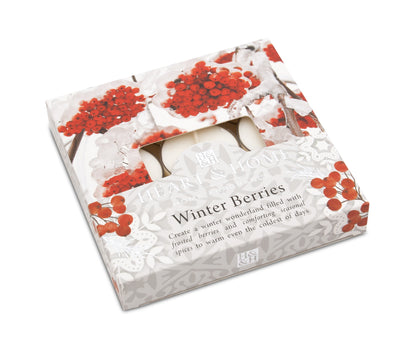 Winter Berries - Tealights - From Heart and Home