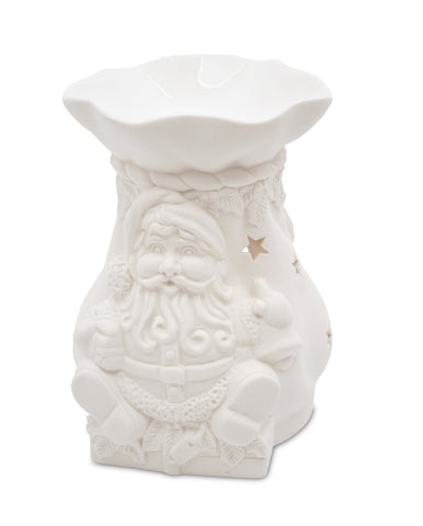 Winter Santa Wax Melt Warmer 2015 - From Heart and Home