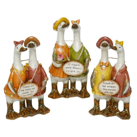 Davids Small Friends Message Ducks - Set of 3 Designs