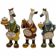 Davids Small Diet Message Ducks - Set of 3 Designs