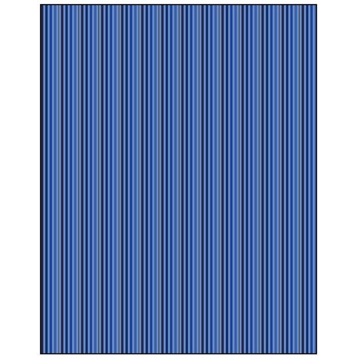 Blue Stripes  Gift Wrapping Paper