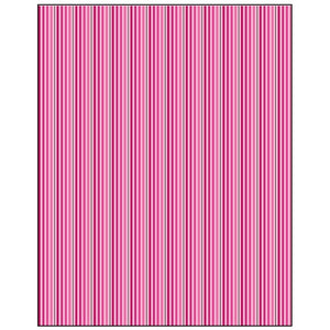 Pink Stripes Gift Wrapping Paper