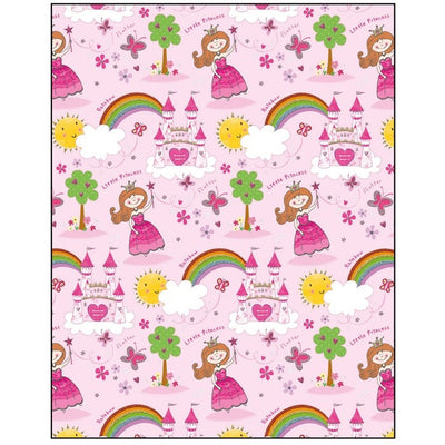 Princess & Castle Gift Wrapping Paper