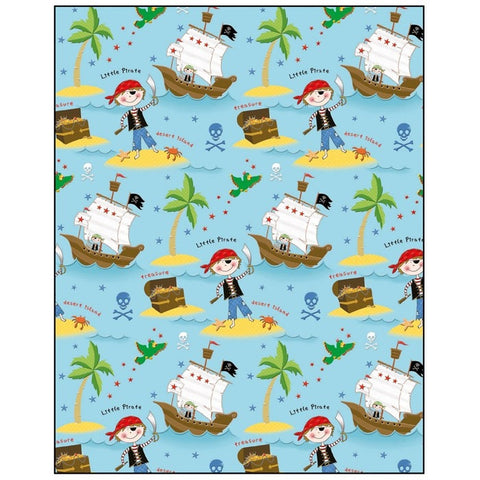 Pirate Gift Wrapping Paper