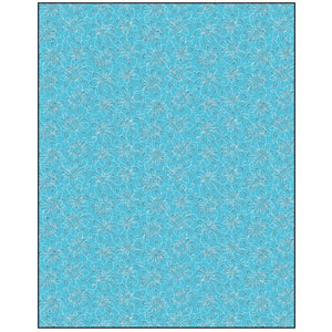 Pattern on Aqua  Gift Wrapping Paper