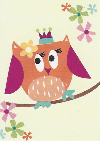 Owls Gift Tag