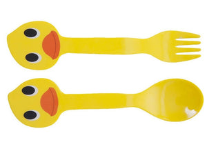 Duck Cutlery Spoon and Fork