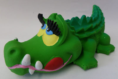 Big Latex Rubber Crocodile From Lanco Ducks