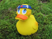 Samurai Latex Rubber Duck From Lanco Ducks