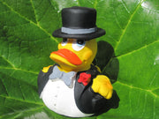 Groom Latex Rubber Duck From Lanco Ducks